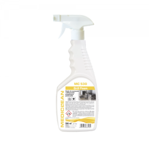 MEDICLEAN MC 530 Pianka do czyszczenia i odtłuszczania przypalonych powierzchni 500ml