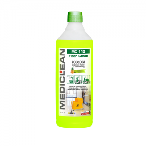 MEDICLEAN MC 110 Preparat do mycia i konserwacji podłóg 1L exotic