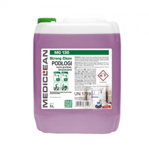 MEDICLEAN MG 130 Wysokoalkaliczny preparat do gruntownego czyszczenia podłóg 5L