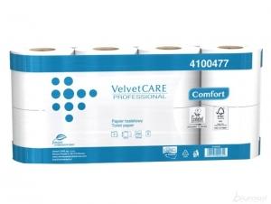 Papier toaletowy Velvet Comfort 27,5 biały 8 rolek