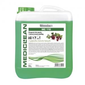 MEDICLEAN MC 110 Preparat do mycia i konserwacji podłóg 5L owoce leśne