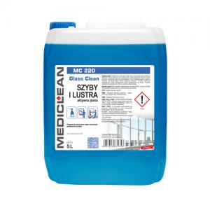MEDICLEAN MC 220 Preparat do mycia szyb 5L