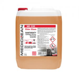MEDICLEAN MC 330 Wybielający żel do czyszczenia i wybielania sanitariatów 5L