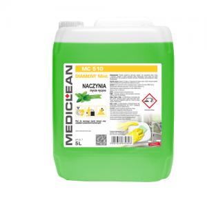 MEDICLEAN MC 510 Płyn do ręcznego mycia naczyń 5L mięta