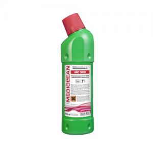 MEDICLEAN MC 320 Antybakteryjny żel do mycia i odkamieniania sanitariatów 750ml