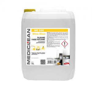 MEDICLEAN MC 550 Preparat do płukania i nabłyszczania naczyń w zmywarkach 5L