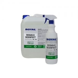 ROYAL RO-55G Preparat do mycia i dezynfekcji powierzchni i urządzeń gastronomicznych 5L