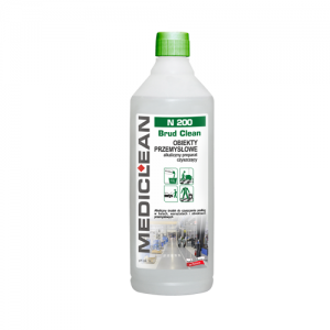 MEDICLEAN N200 Preparat do czyszczenia podłóg w obiektach przemysłowych 1L
