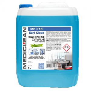 MEDICLEAN MC 210 Preparat do mycia powierzchni zmywalnych 5L zielona herbata