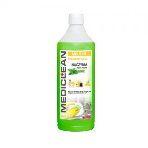 MEDICLEAN MC 510 Płyn do ręcznego mycia naczyń 1L mięta