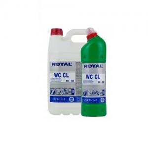 ROYAL RO-133 Żel na bazie chloru do czyszczenia powierzchni i urządzeń sanitarnych 1L
