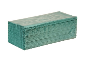 Ręcznik papierowy zz zielony a'4000