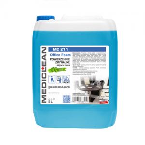 MEDICLEAN MC 211 Pianka do mycia powierzchni zmywalnych 5L